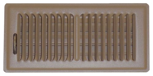 Speedi-Grille SG-48 FLB 4-Inch by 8-Inch Brown Floor Vent Register with 2 Way Deflection by Speedi-Grille