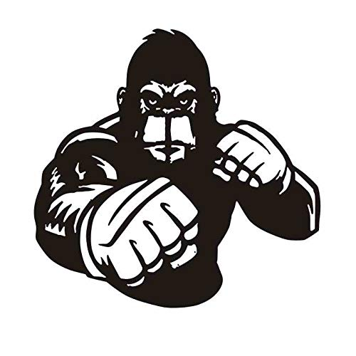 Brazo de boxeo Guante Pegatina Kick Boxer Jugar calcomanía de coches Carteles de vinilo Striker Tatuajes...