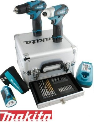 Kit Trapano Avvitatore Lampada 10,8V Litio Limited Edition Makita - LCT303X1