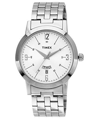 Timex Classics Analog Silver Dial Men's Watch - TI000T118 image