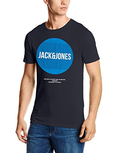 jack-jones-herren-t-shirt-jcobooster-tee-ss-crew-neck-05-blau-navy-blazer-fitslim-medium