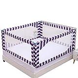 CSQ Bedside Schallwand, Schlafzimmer-großes Bett-Baby gehen zum Bett drehen Anti-Fall...