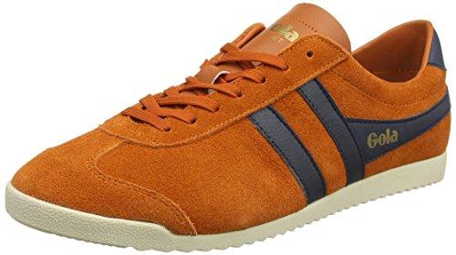 Gola Bullet Suede, Baskets Homme Orange (Orange/navy)