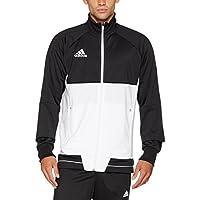 Adidas Tiro17 PES Jkt Chaqueta, Hombre, Negro/Blanco, S