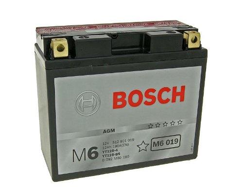 Batteria Bosch YT12B-BS per Ducati Monster 620IE DD anno di costruzione 2002-incluso 7,50EUR Batterie pfand