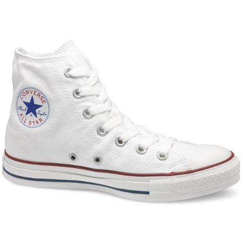 Converse All Star Hi, Unisex Sneaker, white, 37 EU / 4.5 US M / 6.5 US W / 4.5 UK