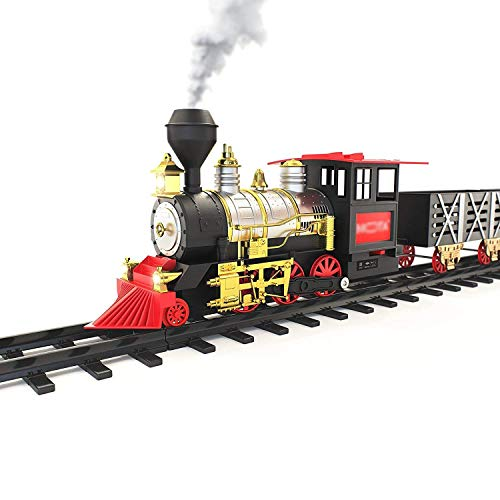 Webby Real Smoke Classic Train with Music and Lights