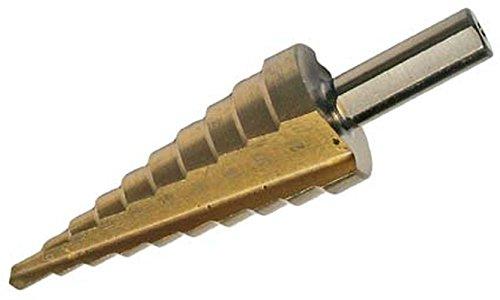 BGS 1618 Foret étagé nitrure de titane, Or/argent, 4-22mm
