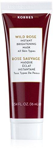 Pore Cleansing Wipes (Korres Wild Rose Vitamin C Maske für alle Hauttypen, 1er Pack (1 x 16 ml))