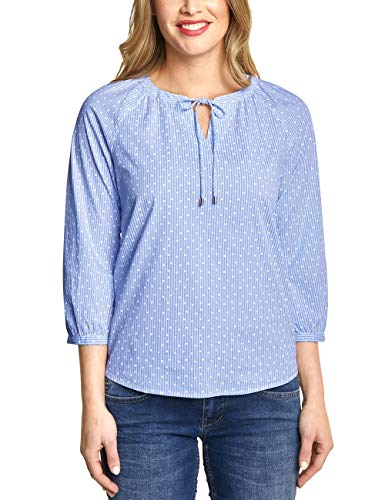 Street One Damen Raja Bluse, Cosmic Blue, 36