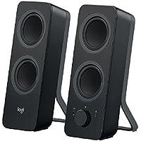 Logitech Bluetooth Speakers/PC Speakers or 3.5 mm Input, 10 W - Black