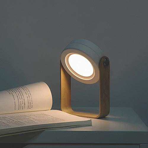 Nachtlicht Buch Licht Kreative Klapptischlampe Schlafsaal Wiederaufladbare Augenschutz Norwegen Schreibtisch Usb Laterne @ Blau-Grau