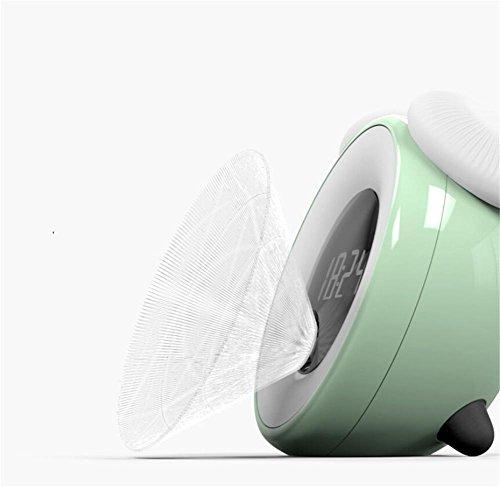 Wecker LED-Lichtsteuerung Nachtlicht Smart Sensor Alarm Schlummeralarm Nachtlicht Zeit Licht Sensor Pilz Licht , 4