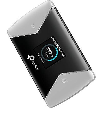 TP-Link Routeur Mobile 4G LTE-Advanced Bi-Bande: Débit 4G de 600