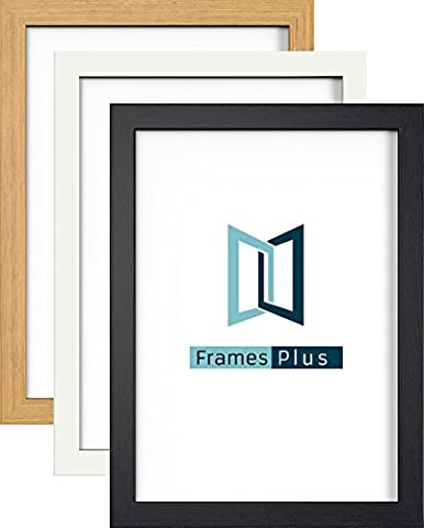 24X18 WHITE PHOTO PICTURE POSTER FRAME PREMIUM QUALITY MODERN STYLE FLAT PROFILE