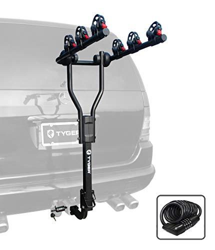 Heckträger Anhängerkupplung Fahrradträger Rack Mount mit Hitch Lock. Passt 1,25oder 2Empfänger) ()