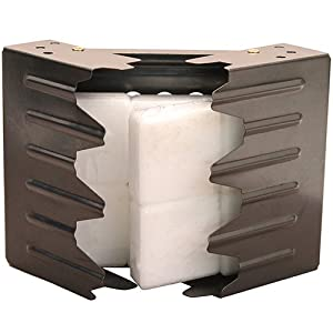 41DqOfrthIL. SS300  - Ultimate Survival Technologies Folding Stove w/8x Fuel Cubes Black Emergency