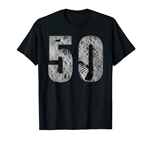 Apollo 11 50. Jahrestag Mondlandung 1969 USA Rakete T-Shirt -