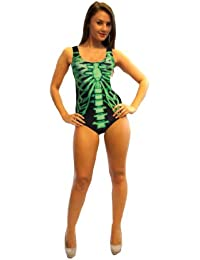 Lovely Bones X-Ray Skeleton Swimsuit Bodysuit