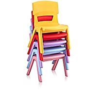 Hyginic Plastic Stackable Little Louis Ghost Kids Home garden Party Desk chairs armchair