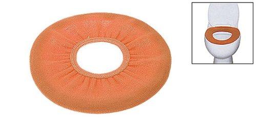 Arancione copriwater copertura bagno rotondo closestool più caldo