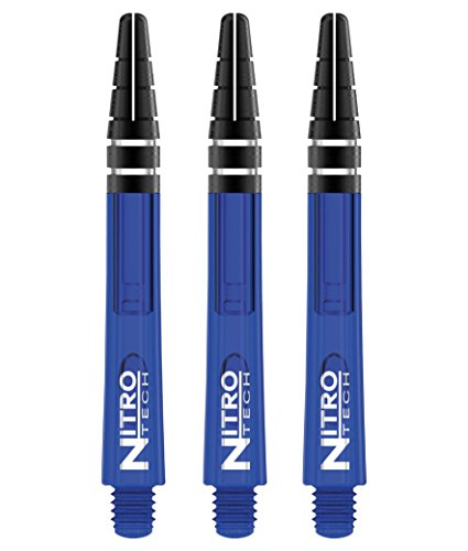 *Red Dragon Nitrotech Medium Shafts – Blue – 3 sets pro packung (9 wellen in total) & Red Dragon checkout card*