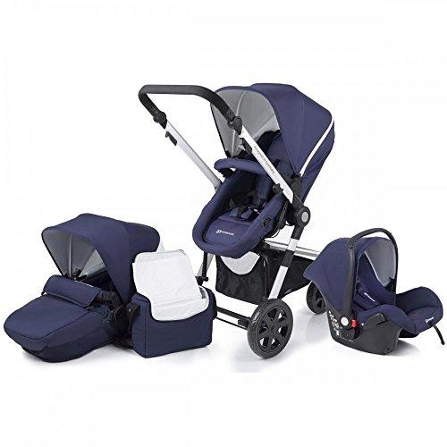 KinderKraft Travel System Paket (Marineblau)
