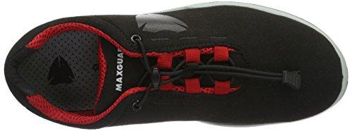 Maxguard Phil P300, Chaussures de Sécurité Mixte Adulte, 36 EU Noir