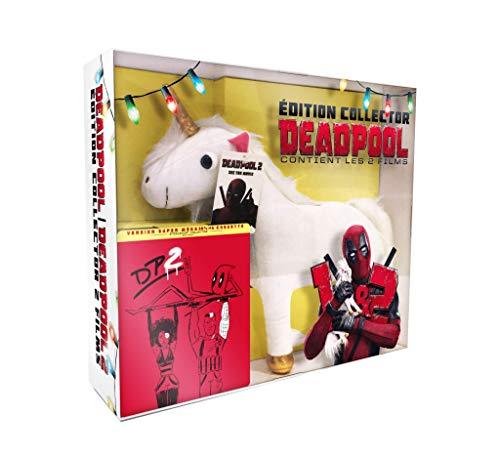 Deadpool + Deadpool 2 [Édition Limitée boîtier SteelBook - Blu-ray + Peluche]