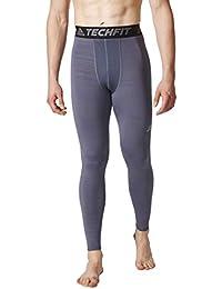 huge discount 7037d ea820 Adidas TF TIG LT CW Mallas, Hombre, Gris (Onix Print),