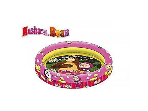 Piscina masha e orso 90 cm gonfiabile gioco giocattolo mare spiaggia #ag17 8421440095258