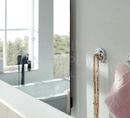Infrarot Spiegelheizung Badezimmer Rahmenlos Mirrorline TÜV 5 Jahre Garantie 600 Watt kaufen  Bild 1*