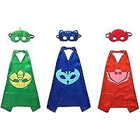 Kiddo Care Super hero Capes, Masks, Satin