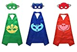 Best unknown Capes - Kiddo Care Super hero Capes, Masks, Satin Review