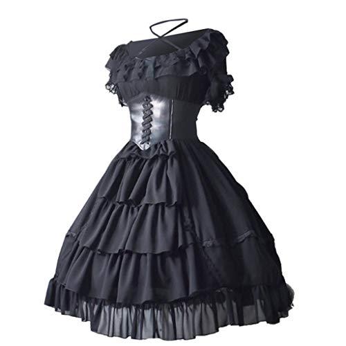 Jahrgang 1920 Kleider Für Verkauf - Huaya Mode Damen Mittelalterlich Jahrgang Gericht