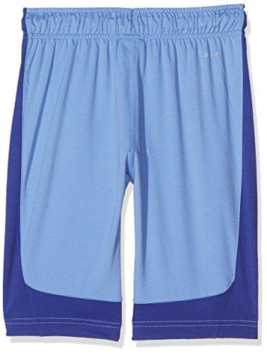 Nike B Dry Polo de Tennis, Enfants Bleu (polaire / nuit profonde / noir)
