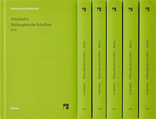 Philosophische Schriften (Philosophische Bibliothek)