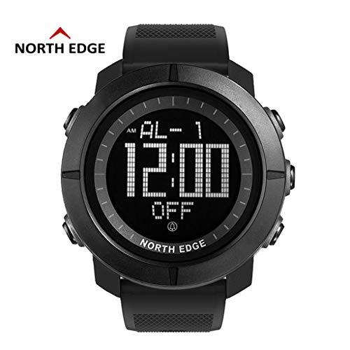 ) Herren Sportuhr Digitale Armbanduhr 5 Atm Wasserdichte Stoppuhr ()