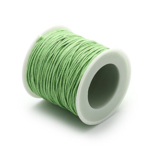 RUBY- Hilo Encerado 1mm 45m Verde