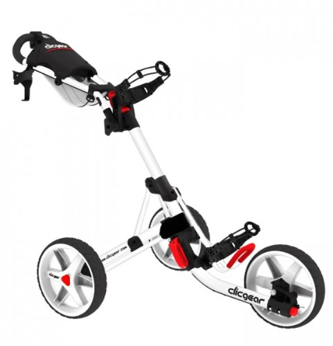 Clicgear Trolley avec roues blanches Artic 3.5'