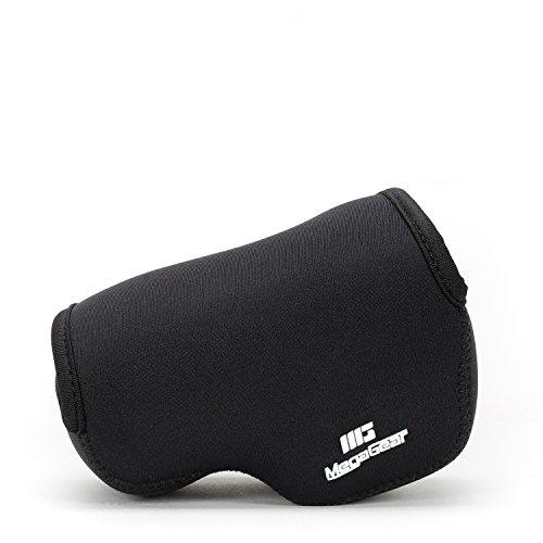 MegaGear Ultraleichte Kameratasche aus Neopren kompatibel mit Sony Alpha A6400, A6500, A6300, A6000 (16-50 mm) - Schwarz