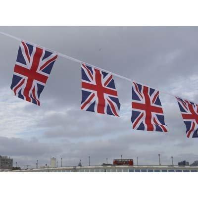 Union Jack Wimpelkette 6m ()