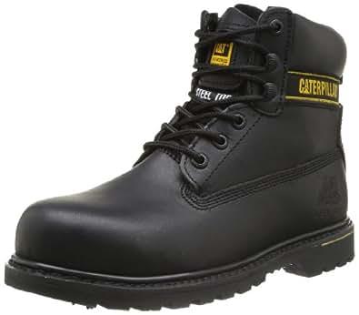 Caaterpillar Men's Black Holton SB Safety Boots, Size 8 UK
