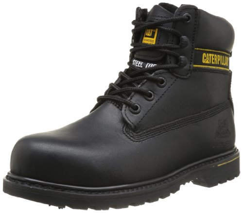Cat Footwear Holton sb, Stivali antinfortunistici uomo Nero