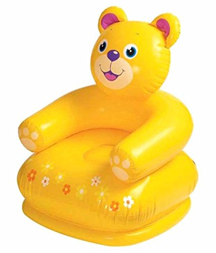 Sapro Teddy Bear Inflatable Chair For Kids  available at amazon for Rs.499