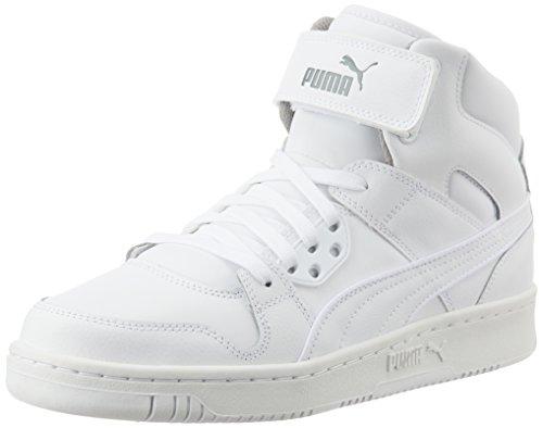 Puma Rebound Street L, Sneakers Basses Mixte Adulte Blanc (White/White)