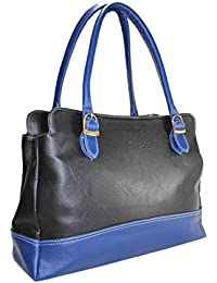 Fargo Couthy PU Leather Women's & Girl's Shoulder Handbag (Black,Blue_FGO-044)