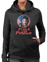 Fresh Prince Of Bel Will Smith Retro Photo Frame Women's Hooded Sweatshirt