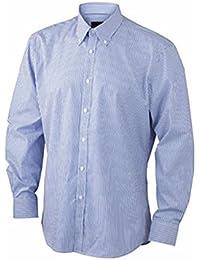 James&Nicholson - chemise repassage facile manches longues à rayures - JN611 - homme