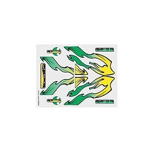 Team Orion ORI59052 - Juego de gráficos, Color Verde y Amarillo
